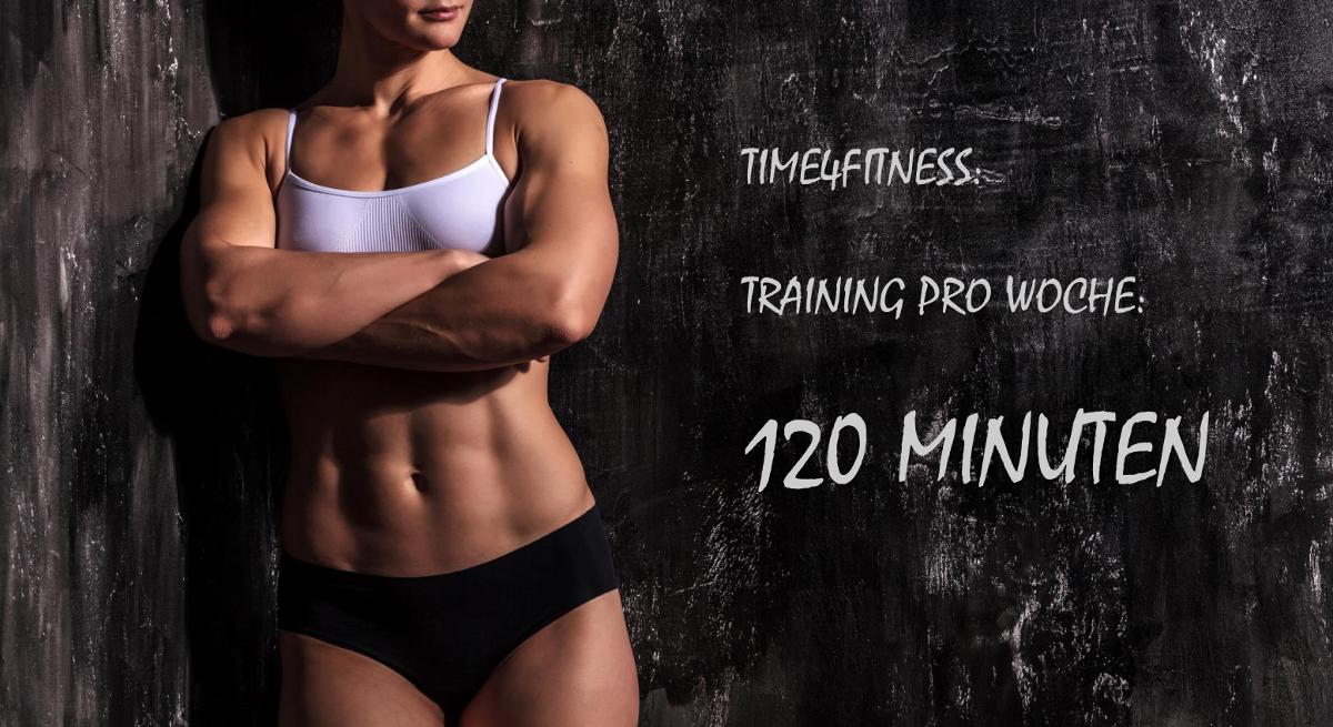 Effektiv abnehmen - Wieviel Training ist nötig?