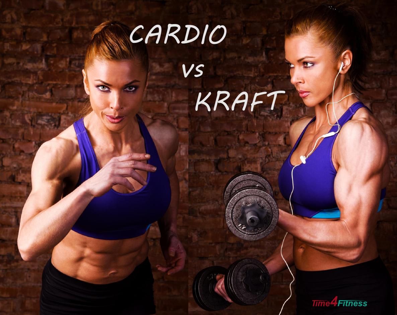 Das richtige Verhältnis Cardio Krafttraining