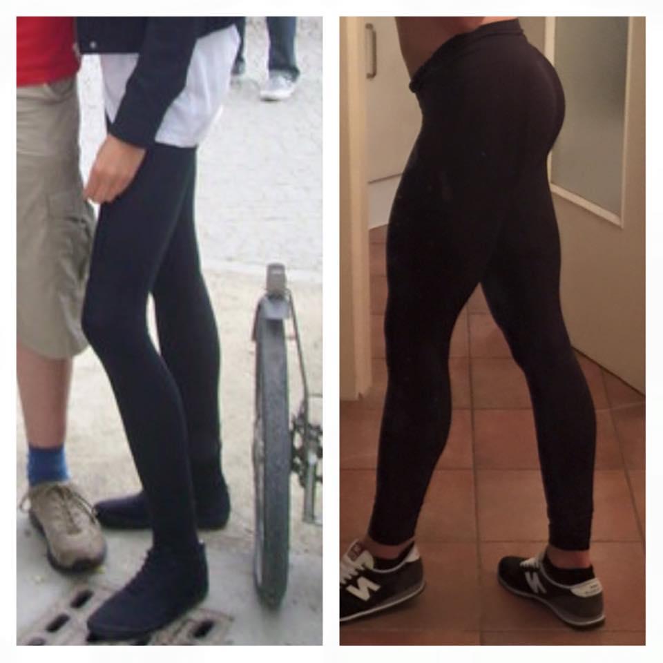 Veränderung der Beine durch Training